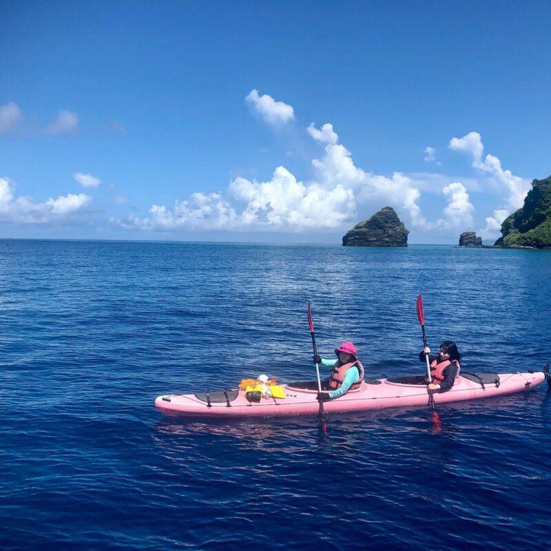【慶良間・座間味島】ウミガメに会える!カヤックde島ピクニック1日ツアー(ランチ・シュノーケリング体験付)(No.317)