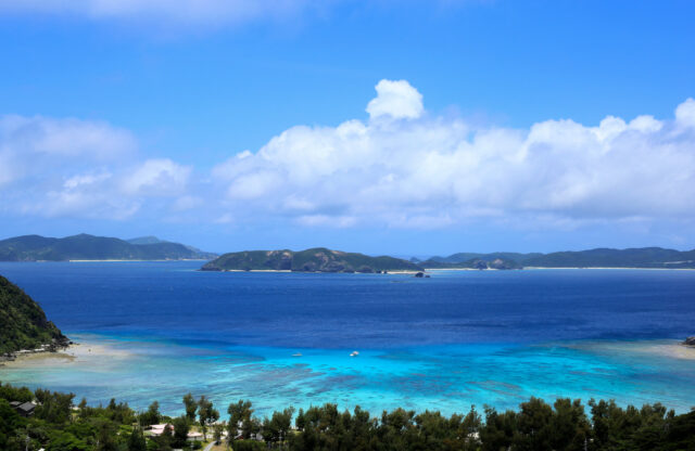 渡嘉敷島の海