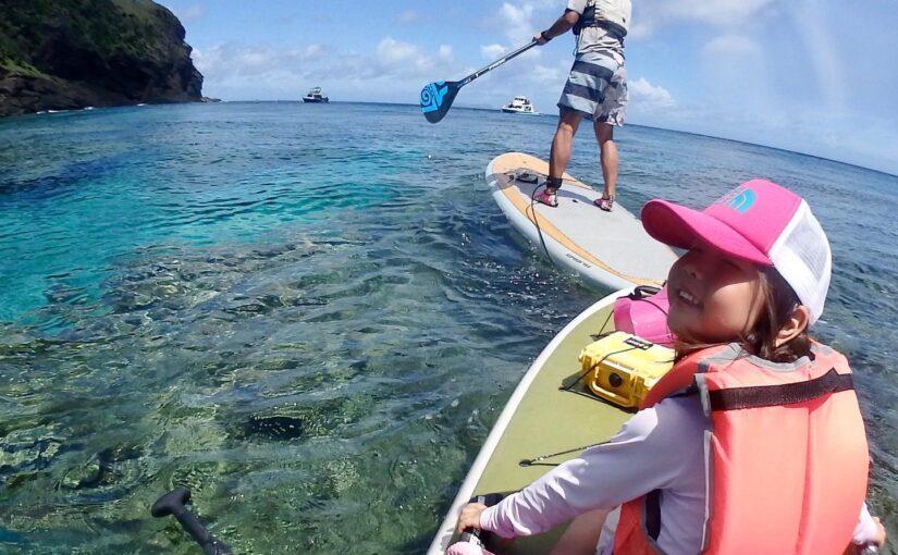 珊瑚の楽園でSUPツアー